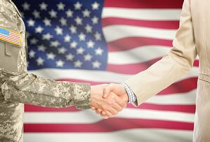 Military transition to logistics career